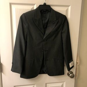Dark gray boy's sport coat/blazer